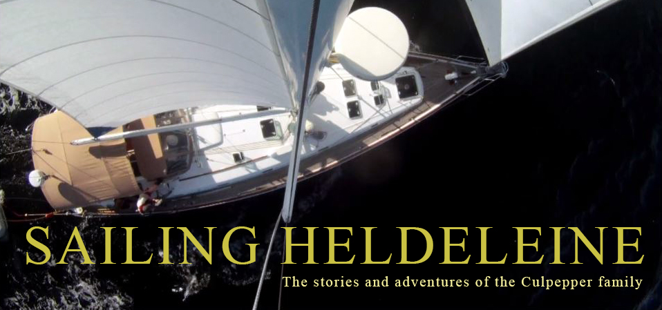 Sailing Heldeleine - Stories and adventures of the Culpepper family