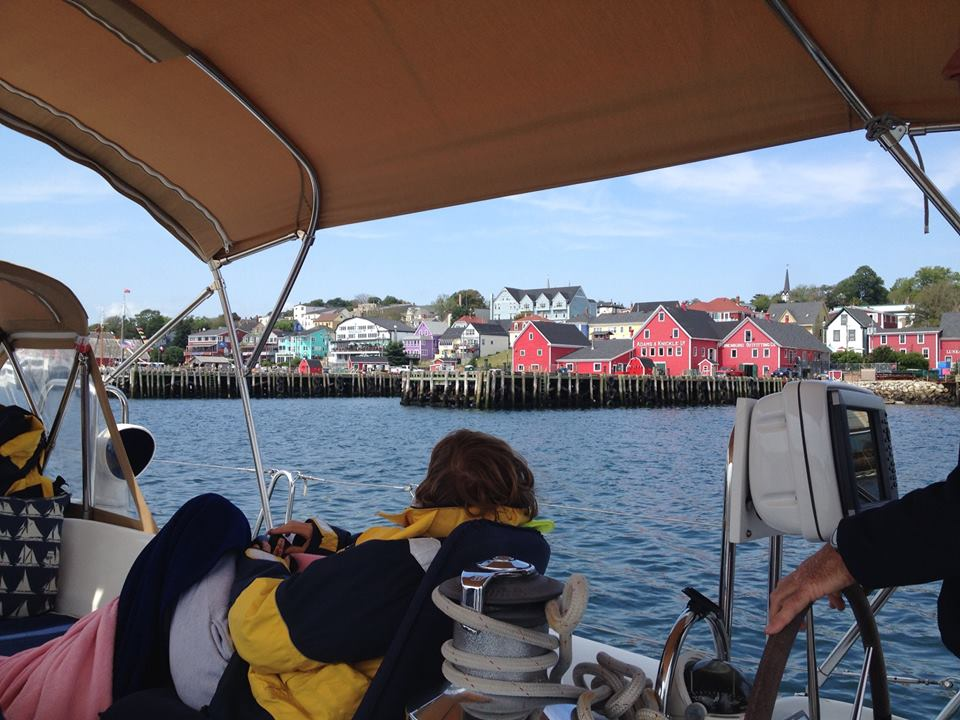 Approaching Lunenburg in Heldeleine